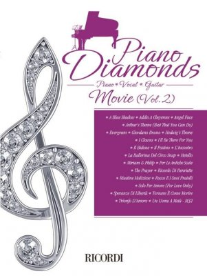 AA.VV. Piano Diamonds: Movie Vol. 2  (PIANO/VOCE/CHITARRA)