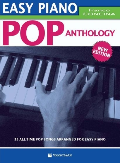 CONCINA - EASY PIANO POP ANTHOLOGY - 35 all time songs arranged for easy  piano